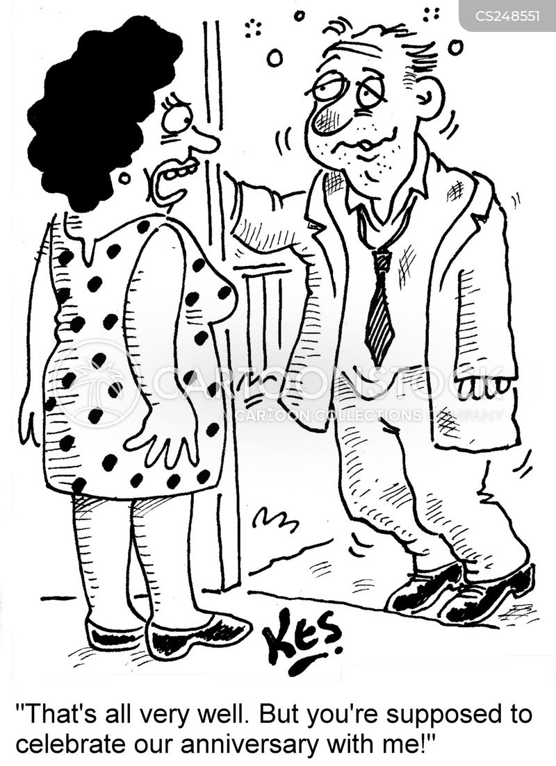 wedding anniversary funny cartoons