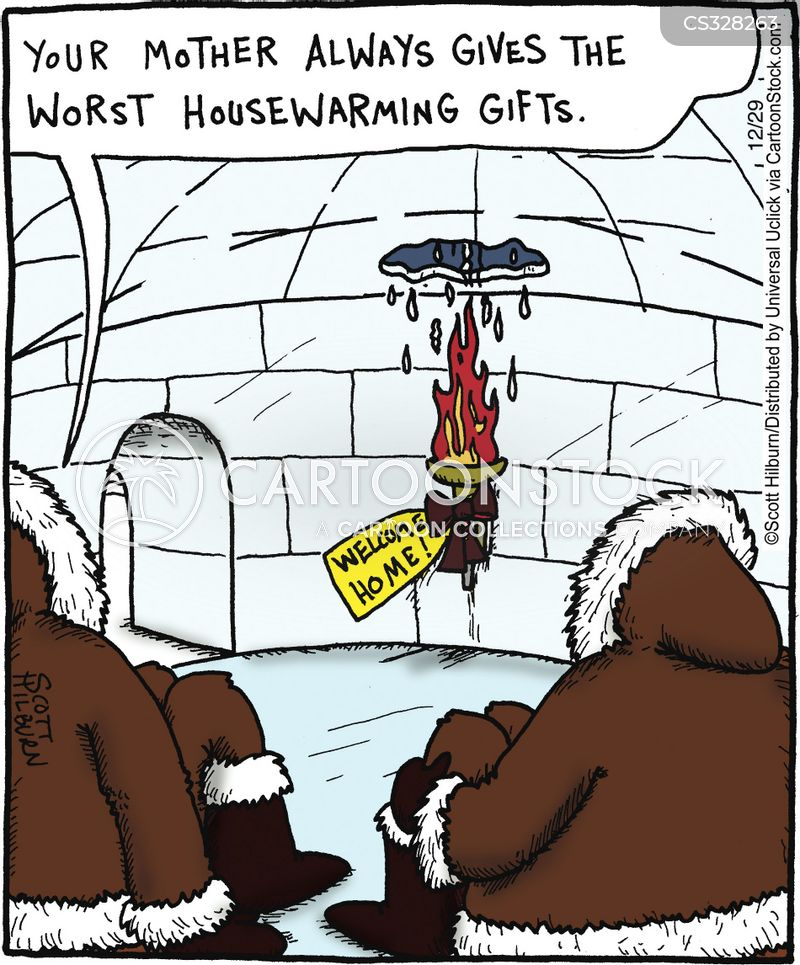 Housewarming Gift Cartoons And Comics Funny Pictures