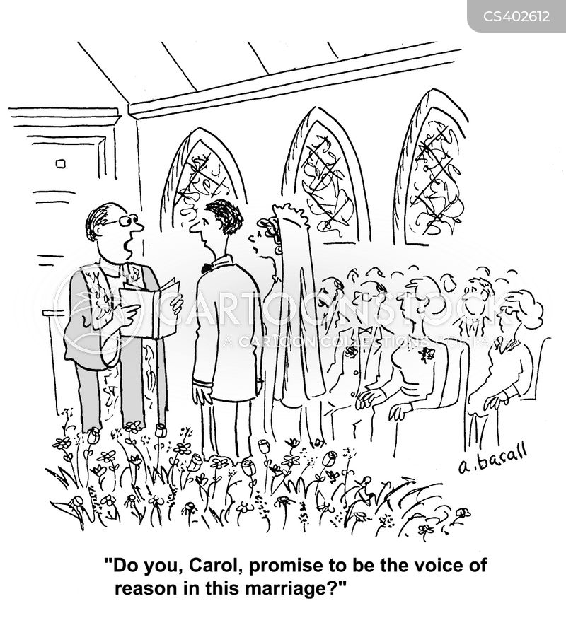 Marriage Ceremonies Cartoons And Comics Funny Pictures