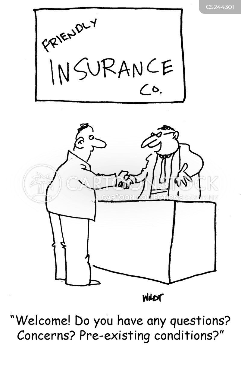 Buying Insurance Cartoons and Comics - funny pictures from ...
