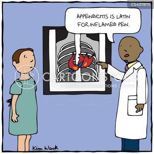 Appendicitis Cartoons and Comics