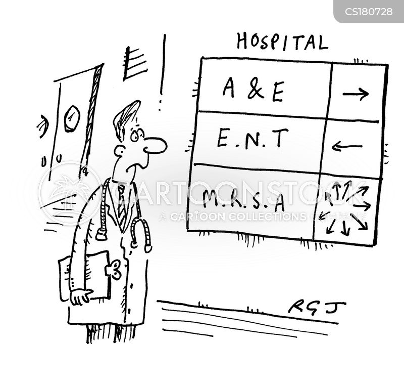 Mrsa Cartoons And Comics Funny Pictures From Cartoonstock