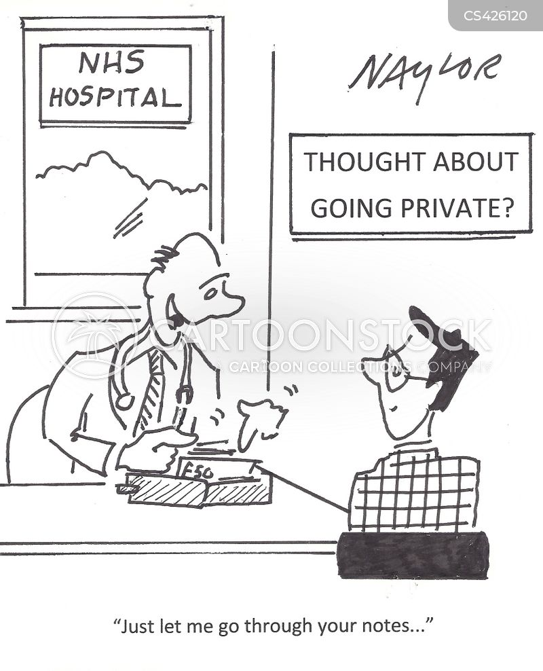 medical notes cartoons and comics