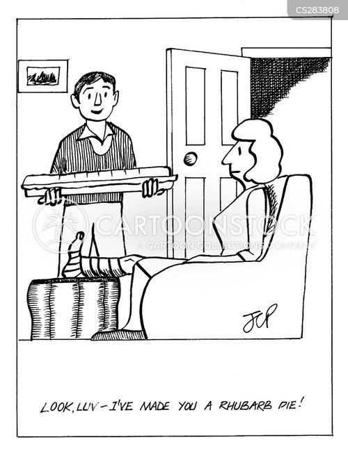 Rhubarb Cartoons and C...