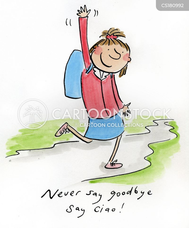 Farewell Cartoons and Comics - funny pictures from ...