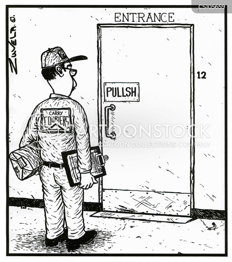 Door Handle Cartoons And Comics Funny Pictures From