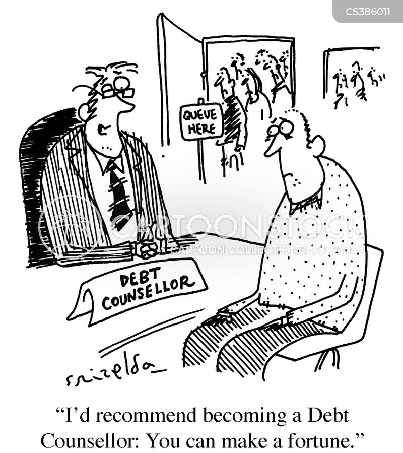 In Debt Cartoons and Comics - funny pictures from CartoonStock
