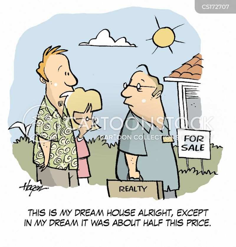 Realtor cartoons and comics funny pictures from cartoonstock for Real time pictures of my house