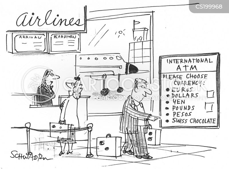 Automated Teller Machines Cartoons And Comics Funny