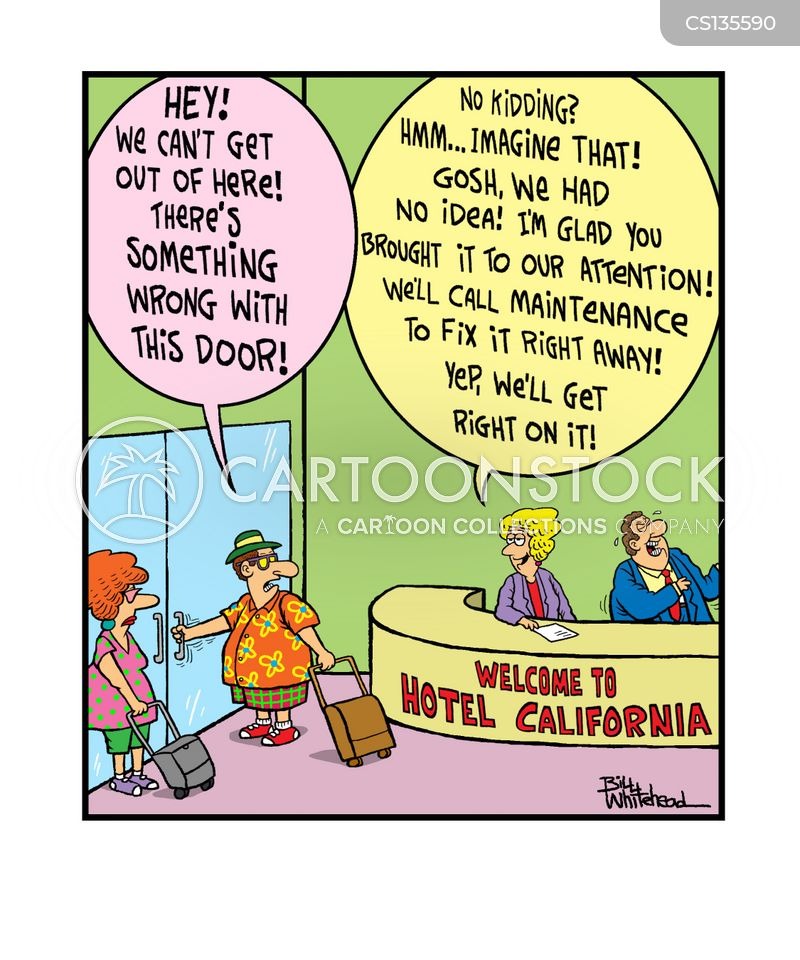 Reception Desks Cartoons and Comics - funny pictures from ... Funny Hotel Jokes