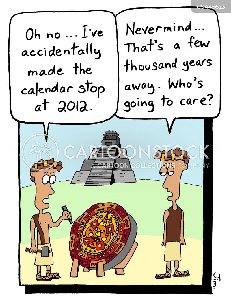 Mayans Cartoons And Comics Funny Pictures From Cartoonstock
