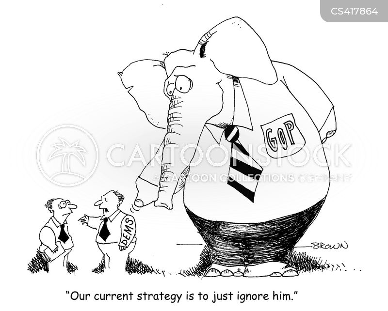 Elephant In The Room News And Political Cartoons