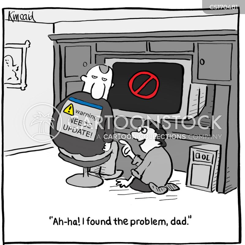 computer problems cartoons and comics funny pictures