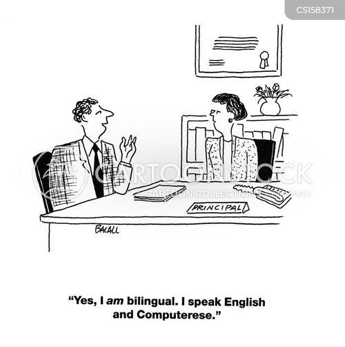 bilingual cartoons and comics