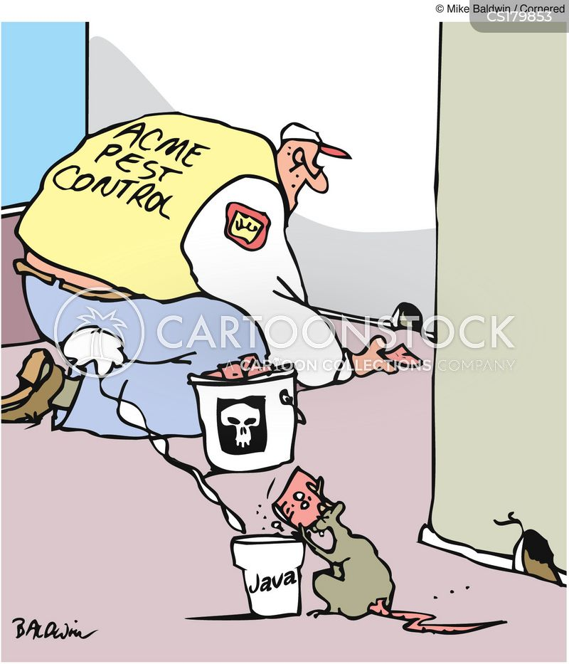 Pest Controller Cartoons and Comics - funny pictures from ...