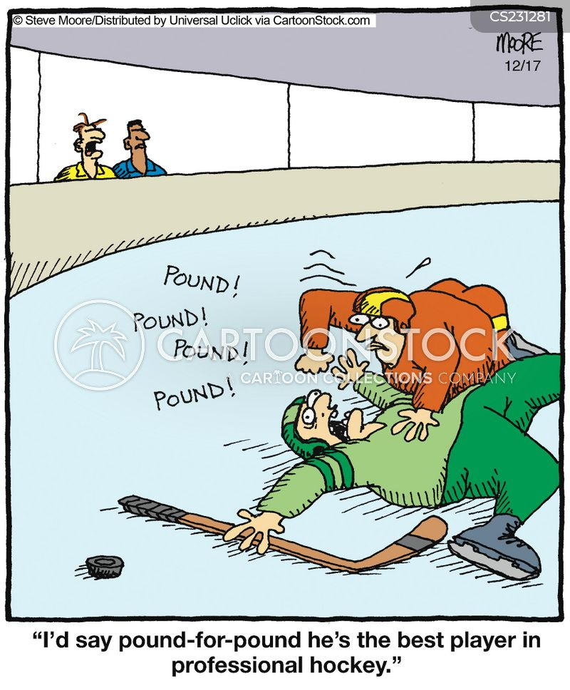 Hockey fans cartoons and comics funny pictures from for Funny fishing team names