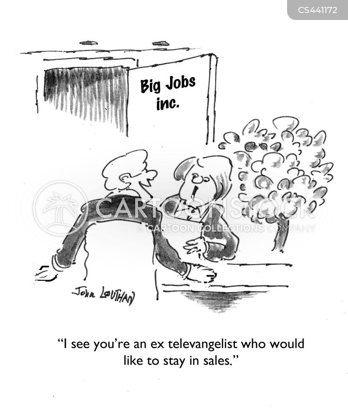 televangelists cartoons and comics