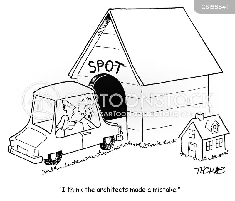 Doghouse cartoons and comics funny pictures from for Architecture and design dog house