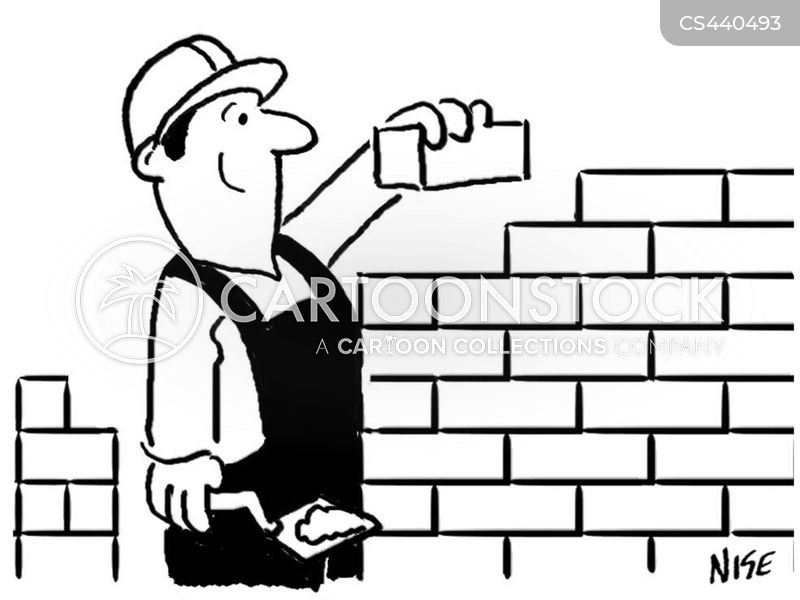 Wall Building Cartoons and Comics - funny pictures from ...