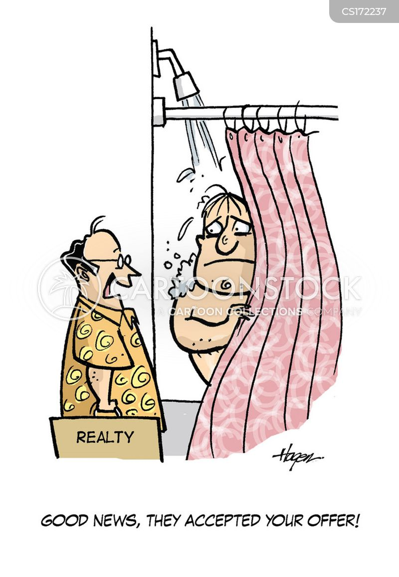 Shower Cartoons And Comics Funny Pictures From Cartoonstock