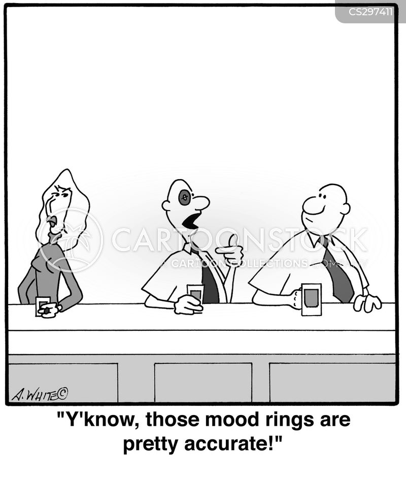 Mood Rings Cartoons and Comics - funny pictures from