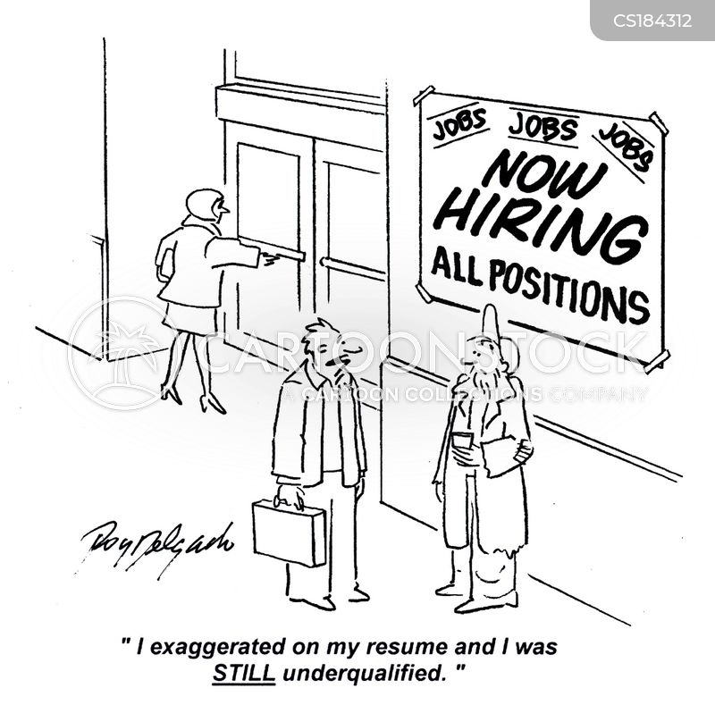 Lie on resume overqualified