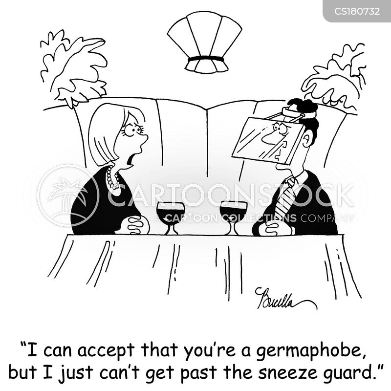 Germaphobe Cartoons and Comics - funny pictures from ...