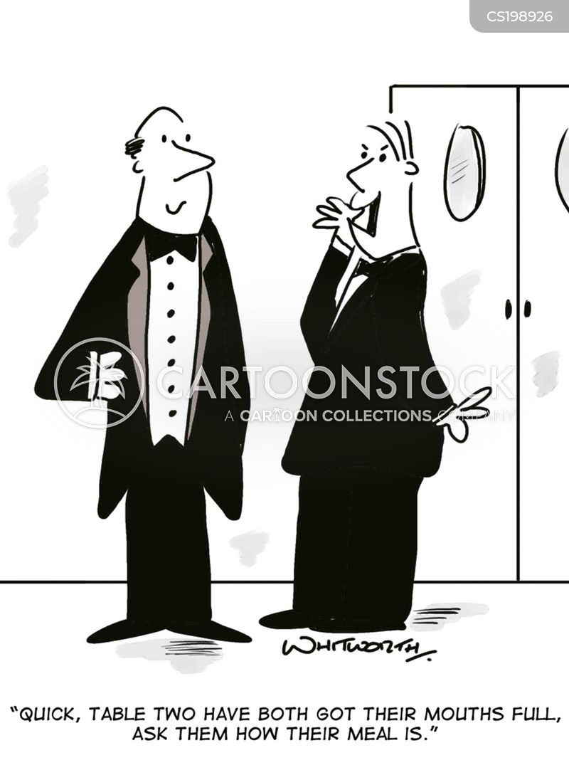 Dining Out Cartoons and Comics funny pictures from  : restaurants waiter prank prankster server customerservice jwhn567low from www.cartoonstock.com size 400 x 538 jpeg 37kB