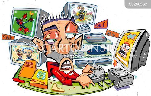 Computer Cartoons Images Stock Photos amp Vectors
