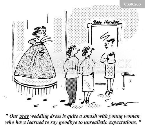 Wedding Dress Shop Cartoons and Comics - funny pictures ...