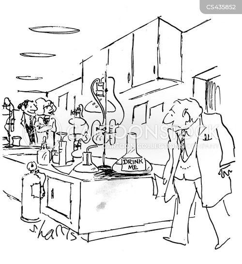 Dangerous Chemicals Cartoons and Comics
