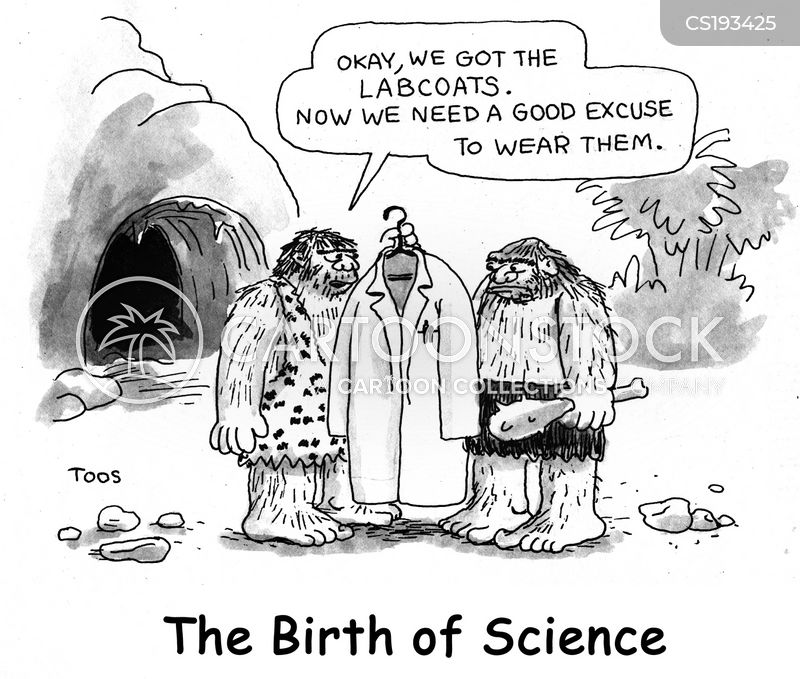 Birht Of Science Cartoons And Comics Funny Pictures From