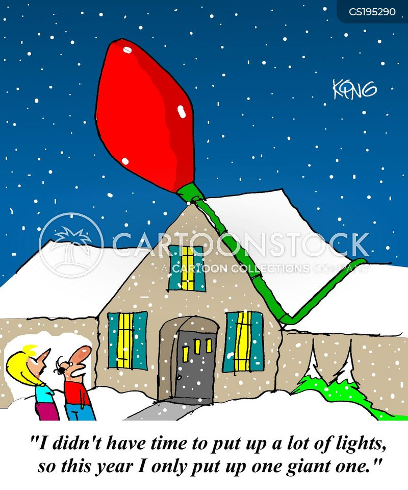 Christmas Lights Cartoons And Comics Funny Pictures From