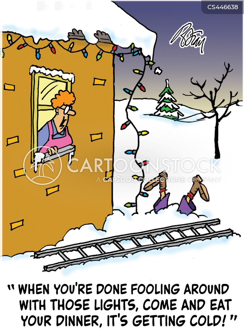 Hang Up Christmas Lights