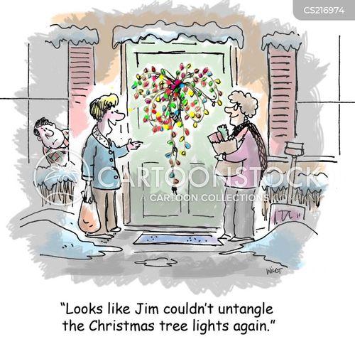 Christmas Tree Cartoons