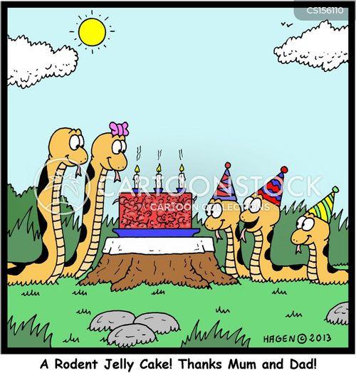 Birthday Treat Cartoons And Comics