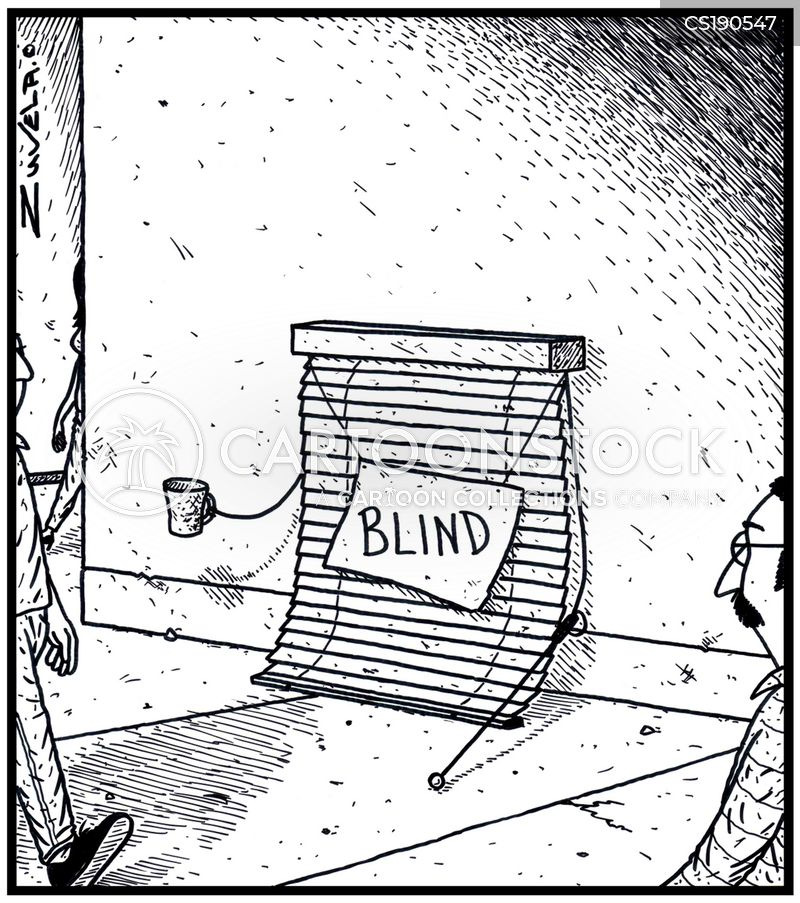 Visually Impaired Cartoons And Comics Funny Pictures