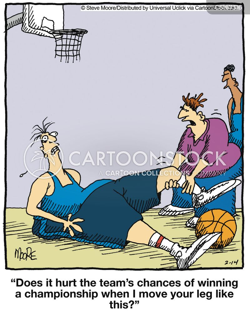 Sports Injury Cartoons and Comics - funny pictures from ...
