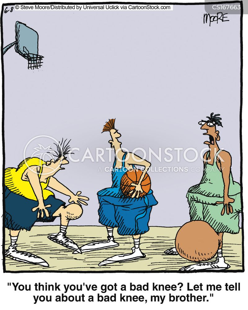 Knee Injury Cartoons a... Demented Animals