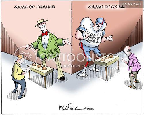 Gambling comic