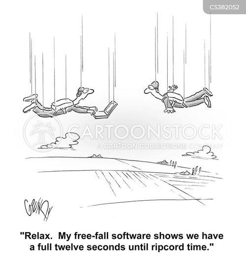 free fall cartoons and comics