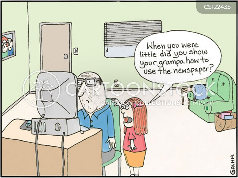 Grampa Cartoons And Comics Funny Pictures From Cartoonstock