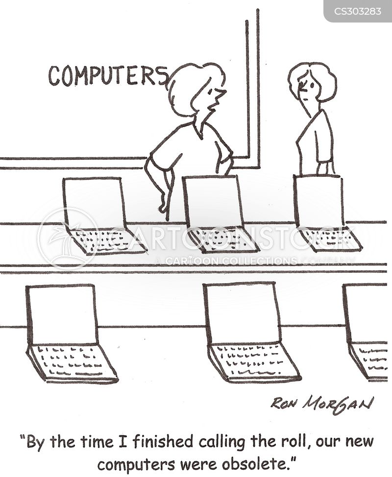 Computer Lab Cartoons And Comics Funny Pictures From