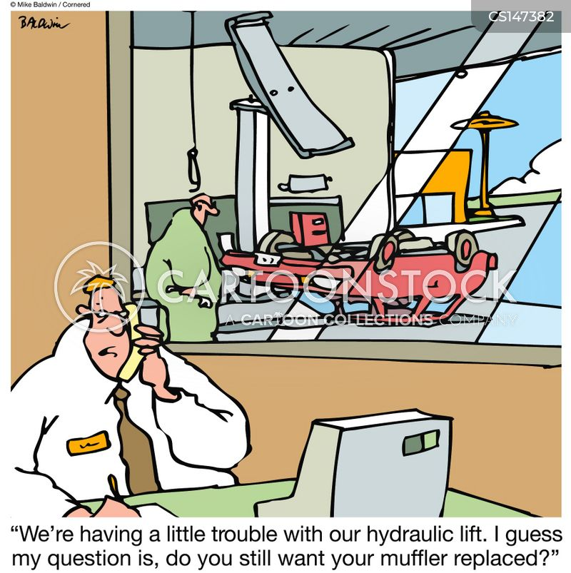 Mufflers Cartoons And Comics Funny Pictures From
