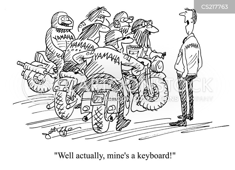 biker gang cartoons within diagram wiring and engine