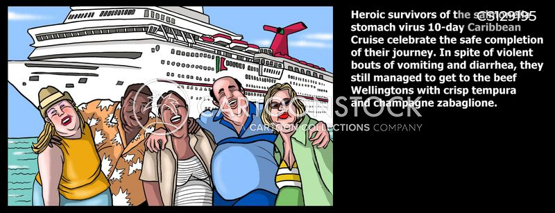 The 5 cruise lines with the most stomach bug outbreaks ...