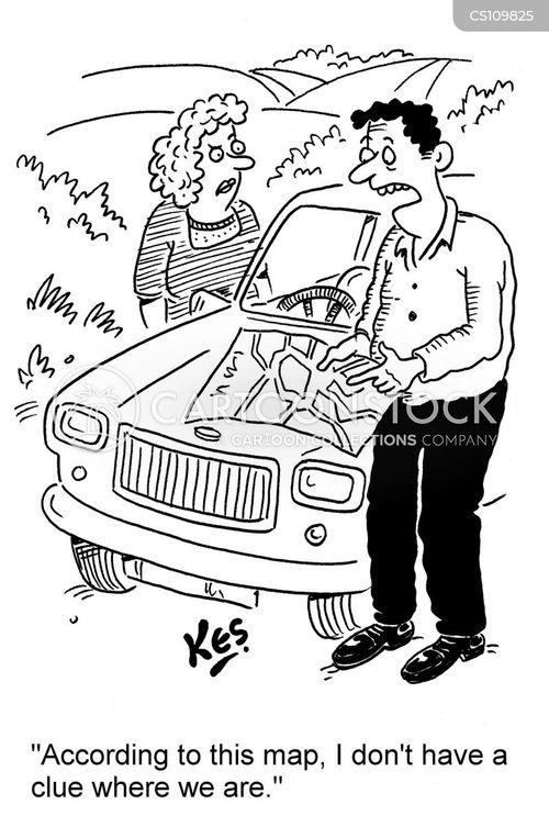 Men Directions cartoons, Men Directions cartoon, funny, Men Directions ... Road Direction Signs