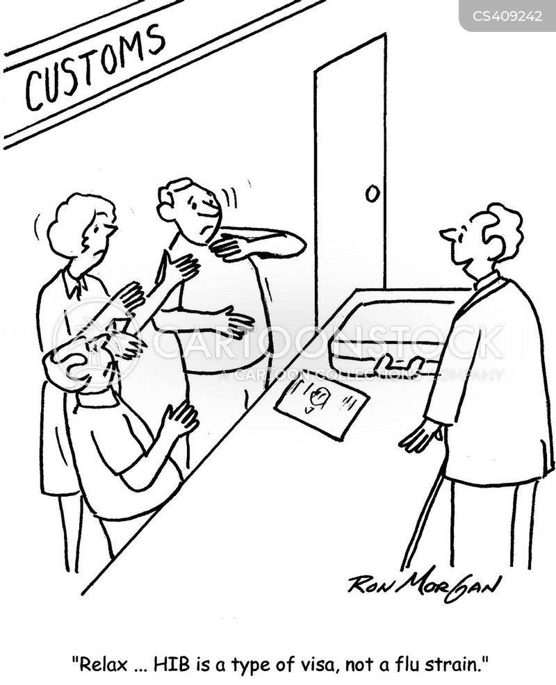 Customs Check Cartoons And Comics Funny Pictures From