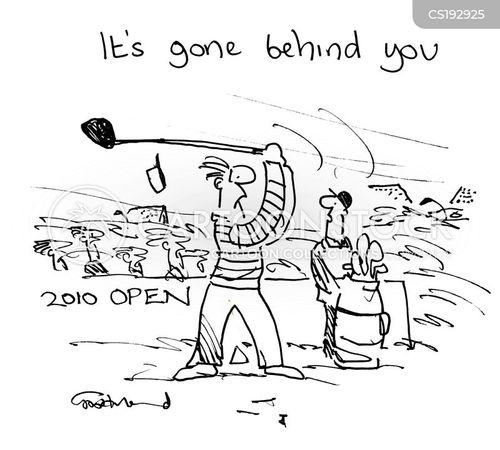 Funny Golf Cart