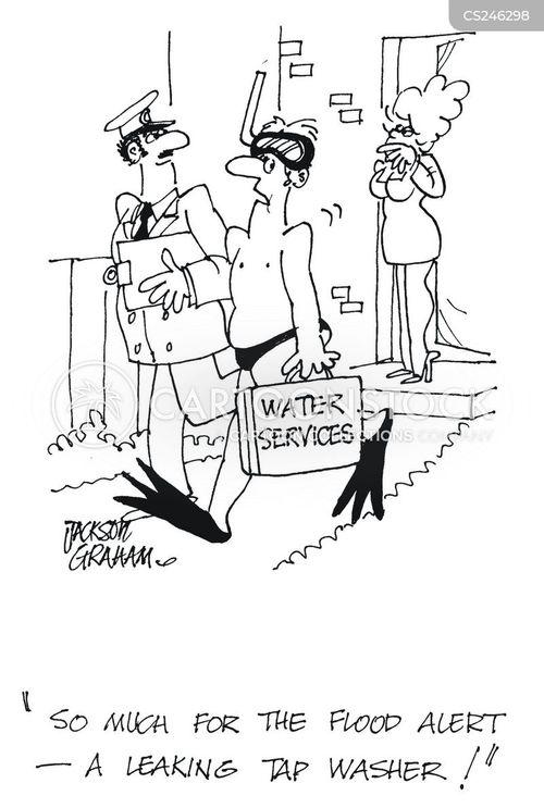 water shortage cartoon